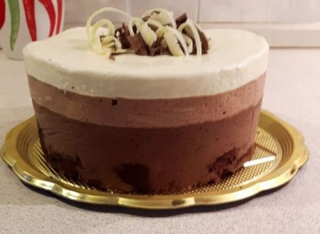 Torta alle 3 mousse