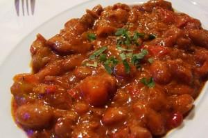 Fagioli e salsiccia