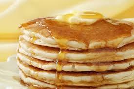 Pancake con sciroppo d'acero