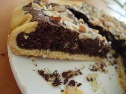 Torta mandole e cioccolato