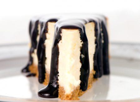 Cheesecake al burro di arachidi