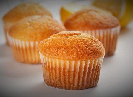 Muffin con farina di riso cuore di cioccolato