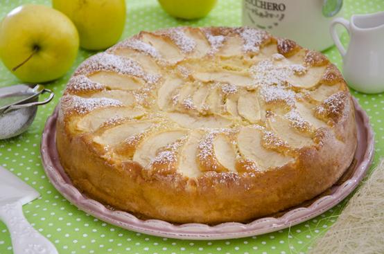 torta di mele quinoa